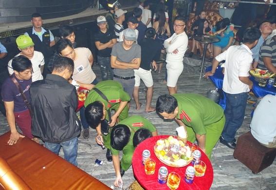 Hàng chục người sử dụng ma túy trong quán bar tại Đồng Nai - ảnh 1
