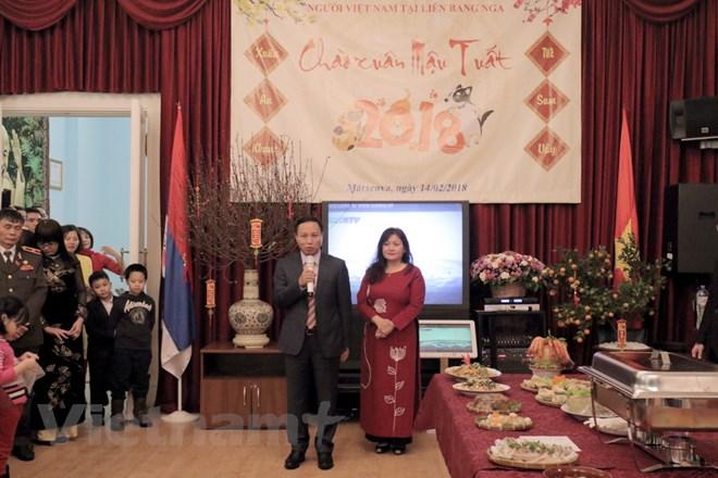 Đầm ấm không khí tết cổ truyền của cộng đồng người Việt Nam tại Nga - ảnh 1