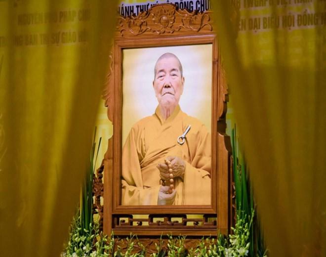 Phó Pháp chủ Giáo hội Phật giáo Việt Nam Thích Thanh Sam viên tịch - ảnh 1