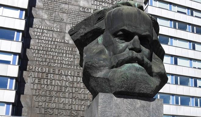 Tượng Karl Marx ở Chemnitz, Đức. (Nguồn: Reuters)