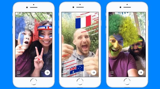 Facebook thêm chủ đề và hiệu ứng World Cup 2018 cho ứng dụng Messenger - ảnh 1