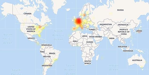 Facebook bị sập mạng, không thể vào được ứng dụng di động - ảnh 2