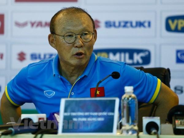 HLV Park Hang-seo tự tin tuyển Việt Nam sẽ chiến thắng Afghanistan - ảnh 1