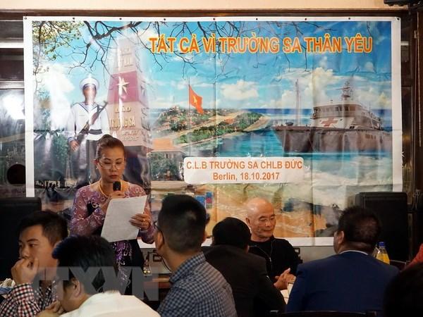 Người Việt tại Đức tổ chức chương trình hướng về biển đảo quê hương