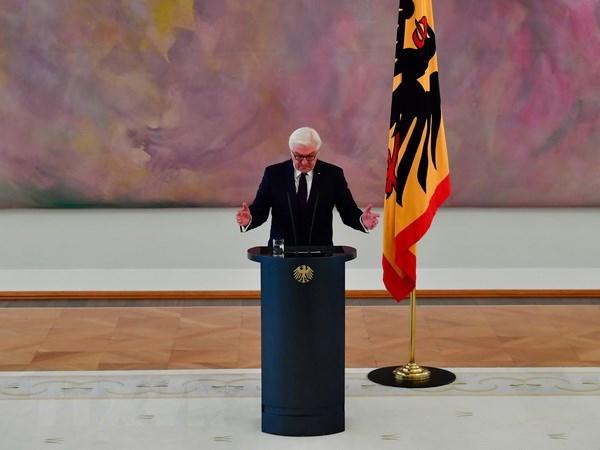 Tổng thống Đức Frank-Walter Steinmeier. (Nguồn: AFP/TTXVN)