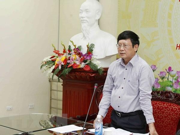 Phó Chủ nhiệm Văn phòng Quốc hội Đỗ Mạnh Hùng. (Ảnh: Văn Điệp/TTXVN)
