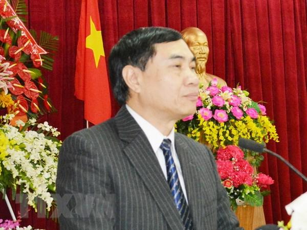 Ông Trần Quốc Cường, Ủy viên Trung ương Đảng, Phó Bí thư Tỉnh ủy Đắc Lắk. Ảnh: Tuấn Anh/TTXVN