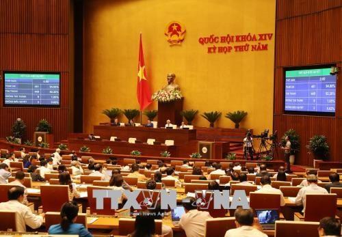 14/6: Quốc hội biểu quyết thông qua dự thảo Luật Thể dục, thể thao - ảnh 1
