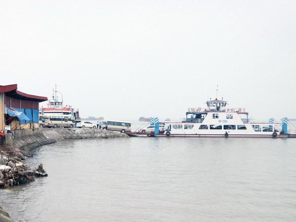Hải Phòng: Phân luồng, chống ùn tắc tại khu vực bến phà Gót - ảnh 1