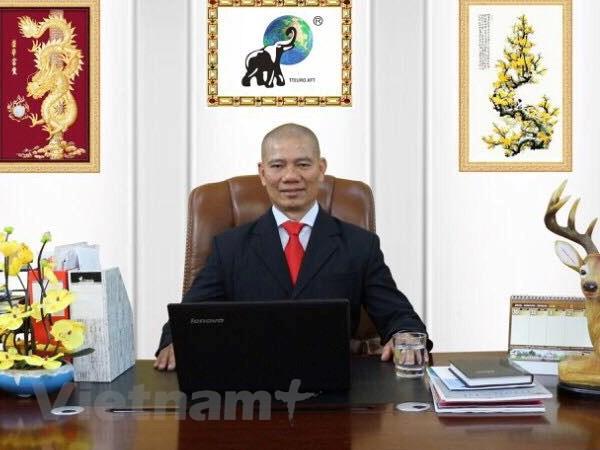 Giám đốc Nguyễn Văn Thịnh. (Ảnh: Bích Yến/Vietnam+)