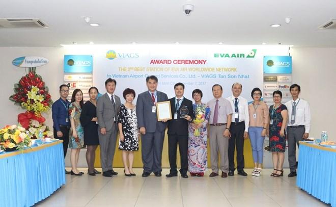 VIAGS Tân Sơn Nhất đạt dịch vụ đạt chất lượng tốt thứ 2 toàn cầu - ảnh 1