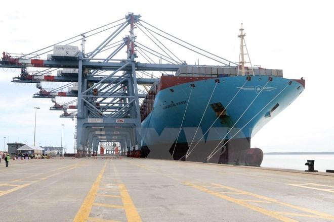 Vận tải biển-cảng biển-logistics vẫn là thế mạnh chủ chốt của Vinalines. (Ảnh: TTXVN)