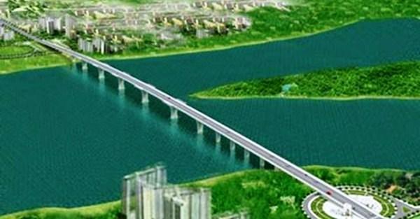 Nhà đầu tư đề nghị thu phí BOT cầu vượt sông Hồng nối Thái Bình-Hà Nam - ảnh 1