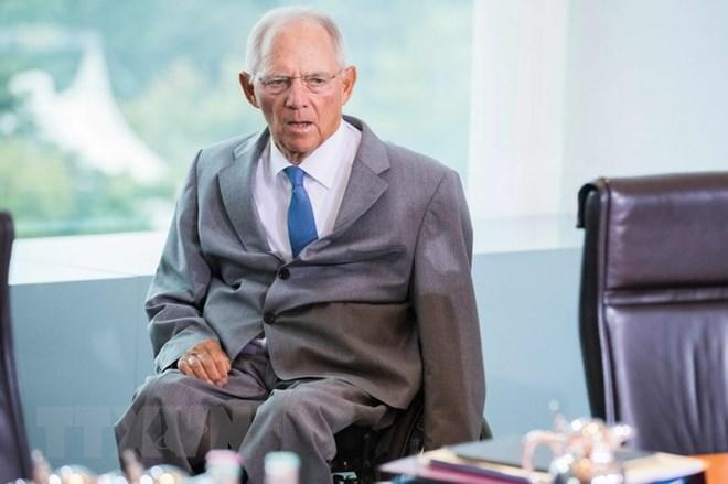 Ông Wolfgang Schäuble sẽ thôi chức Bộ trưởng Tài chính Đức để chuẩn bị đảm nhiệm chức Chủ tịch quốc hội. (Nguồn: AFP/TTXVN)