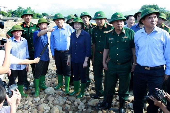 Lực lượng cứu hộ tìm thấy 4 thi thể trong đợt lũ lụt tại Yên Bái - ảnh 1