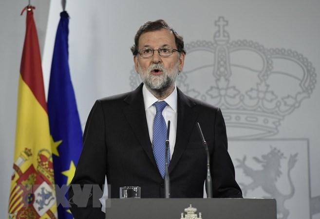 Thủ tướng Tây Ban Nha kêu gọi các doanh nghiệp ở lại Catalonia - ảnh 1