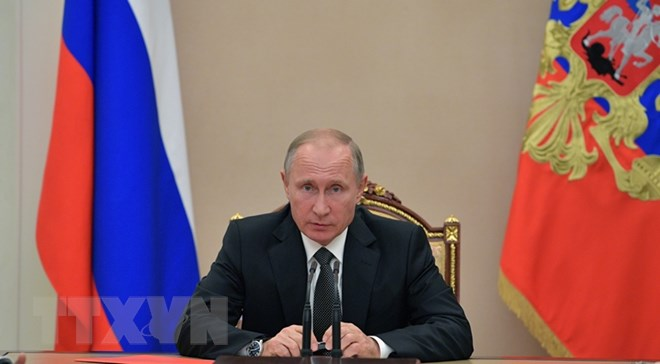 Tổng thống Nga Putin thảo luận với Hội đồng An ninh về vấn đề Syria - ảnh 1