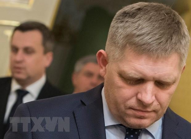 Thủ tướng Slovakia Robert Fico từ chức dưới sức ép của phe đối lập - ảnh 1