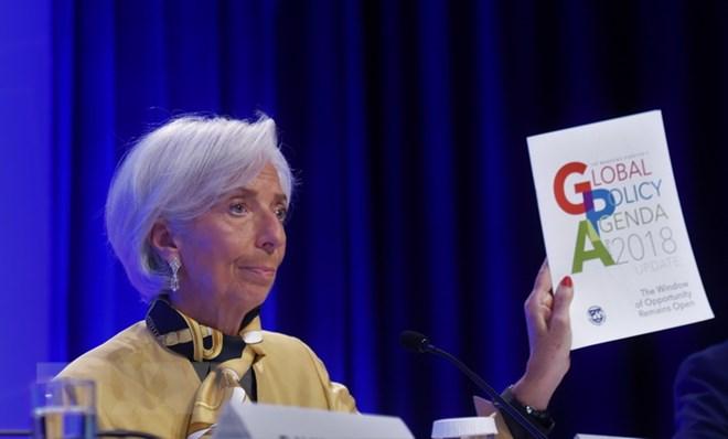 Tổng Giám đốc Quỹ Tiền tệ quốc tế (IMF) Christine Lagarde. (Nguồn: THX/TTXVN)