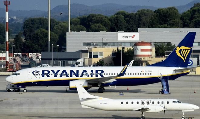 Đình công ảnh hưởng tới 55.000 hành khách của hàng không Ryanair - ảnh 1