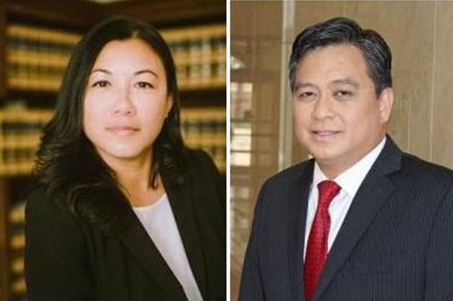 Hai người gốc Việt giữ chức chánh án Tòa Thượng thẩm ở California