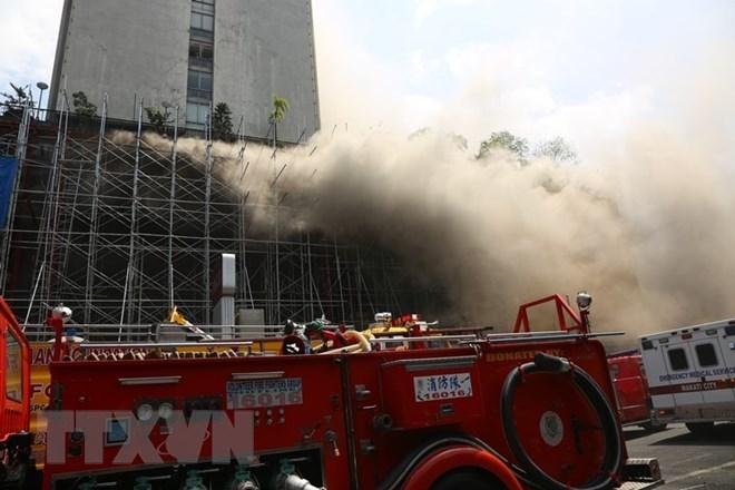Cháy bệnh viện tại Đài Loan, nhiều người bị thương nặng - ảnh 1