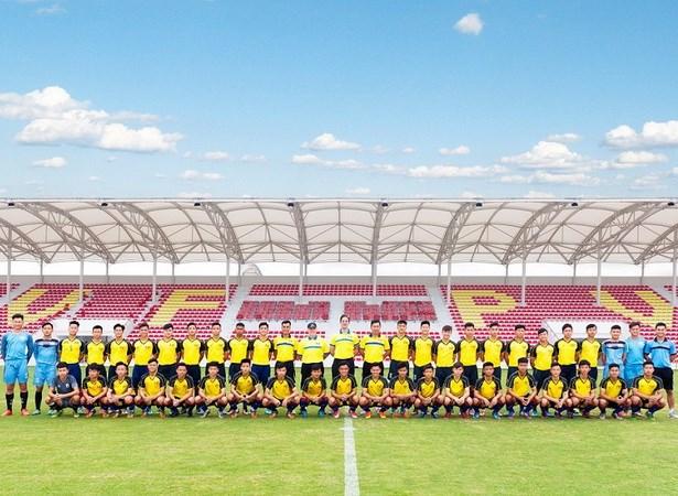 Đội hình của chủ nhà U15 PVF sẽ tham dự giải giao hữu U15 quốc tế do PVF tổ chức nhân dịp khai trương cơ sở mới tại Hưng Yên.