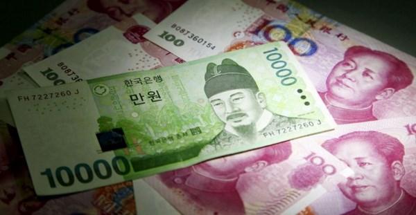Hàn Quốc và Trung Quốc gia hạn thỏa thuận hoán đổi tiền tệ - ảnh 1