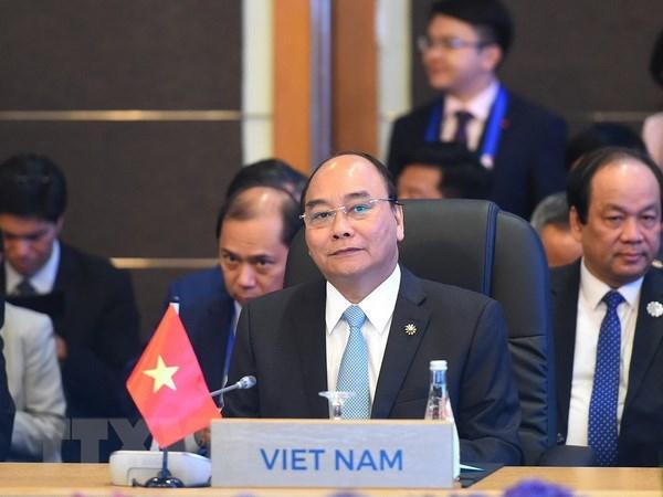 Thủ tướng Nguyễn Xuân Phúc phát biểu tại phiên họp toàn thể ASEAN 31