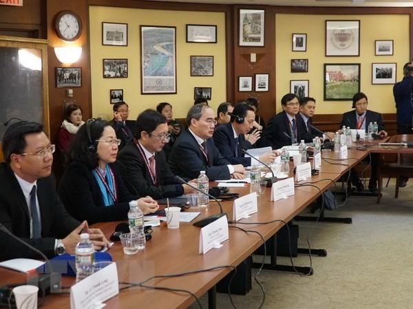 Đẩy mạnh hợp tác giữa các trường đại học của Việt Nam và Mỹ