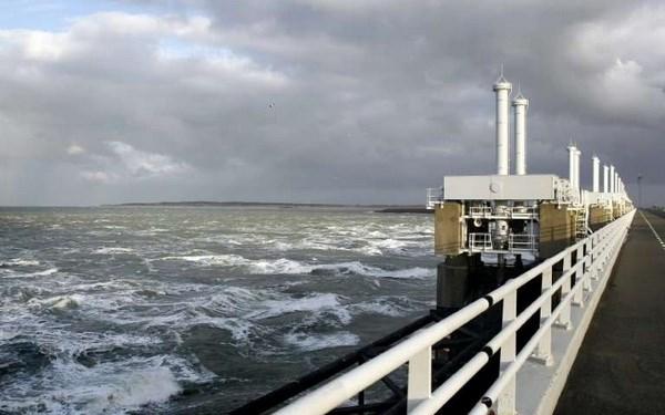Mực nước biển ở Hà Lan dâng cao kỷ lục trong năm 2017 - ảnh 1