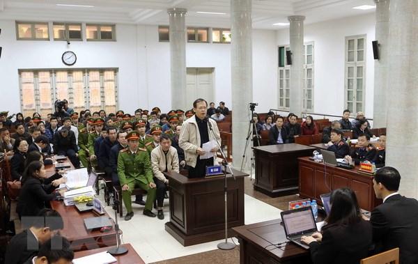 Xét xử Trịnh Xuân Thanh: Các bị cáo xin giảm nhẹ tội cho nhau - ảnh 1