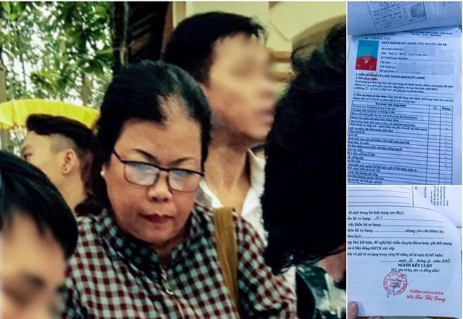 Đối tượng Lê Thị Hương. (Nguồn: TTXVN)