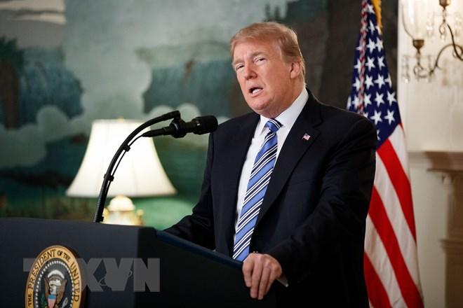 Tổng thống Mỹ Donald Trump. (Nguồn: THX/ TTXVN)