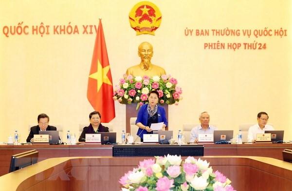 Chủ tịch Quốc hội Nguyễn Thị Kim Ngân phát biểu khai mạc Phiên họp. Ảnh: Trọng Đức/TTXVN
