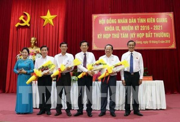 Thủ tướng phê chuẩn kết quả bầu bổ sung Phó Chủ tịch tỉnh Kiên Giang