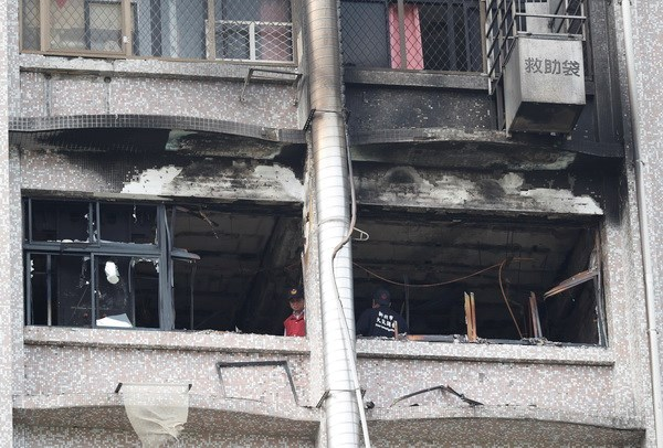 Vụ cháy bệnh viện tại Đài Loan: Số thiệt mạng tăng lên 9 người - ảnh 1