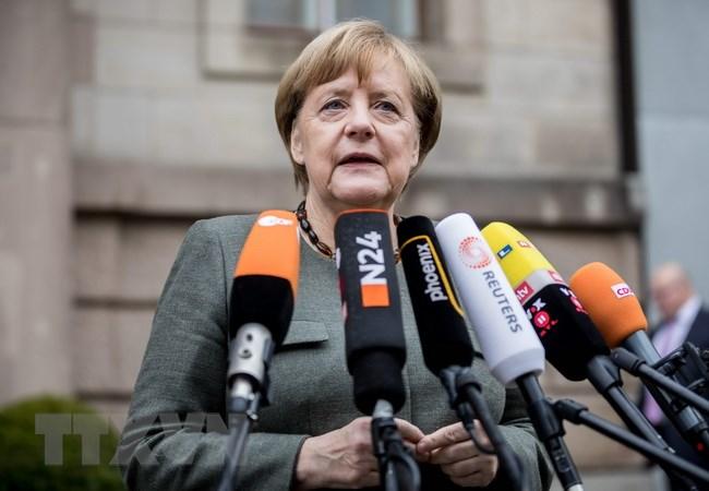 Thủ tướng Angela Merkel. (Ảnh: AFP/TTXVN)
