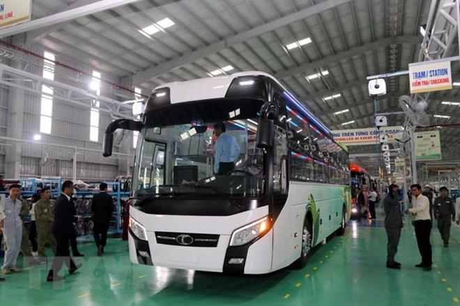 Khánh thành Nhà máy xe bus đầu tiên mang thương hiệu Việt Nam - ảnh 2
