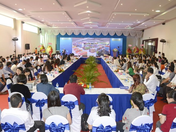 Khai mạc Hội nghị Kết nối cung-cầu hàng hóa 2017 tại TP Hồ Chí Minh - ảnh 1
