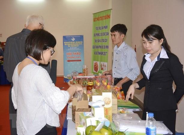 Khai mạc Hội nghị Kết nối cung-cầu hàng hóa 2017 tại TP Hồ Chí Minh - ảnh 2