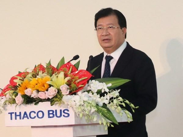Khánh thành Nhà máy xe bus đầu tiên mang thương hiệu Việt Nam - ảnh 1