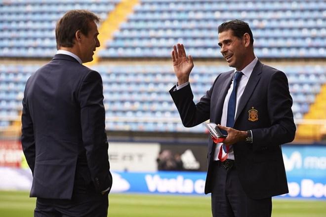 Fernando Hierro thay thế Lopetegui dẫn dắt tuyển Tây Ban Nha - ảnh 1