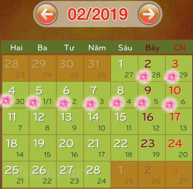 Đồng ý phương án nghỉ Tết Kỷ Hợi 9 ngày, dịp 30/4 nghỉ 5 ngày - ảnh 3