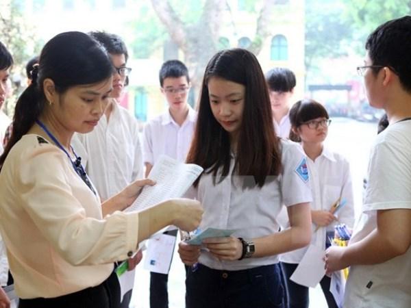 Hà Nội: Bốn điểm mới trong kỳ thi vào lớp 10 năm học 2018-2019