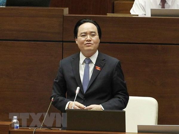 Hình ảnh Hệ thống máy của Quốc hội bị treo vì chất vấn Bộ trưởng Bộ Giáo dục số 1