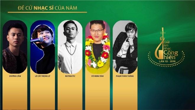 Giải Cống hiến 2018: Gọi tên Dương Cầm, Mỹ Tâm và Tùng Dương? - ảnh 1