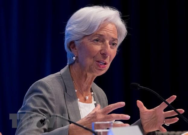 Giám đốc điều hành IMF Christine Lagarde. (Nguồn: THX/TTXVN)