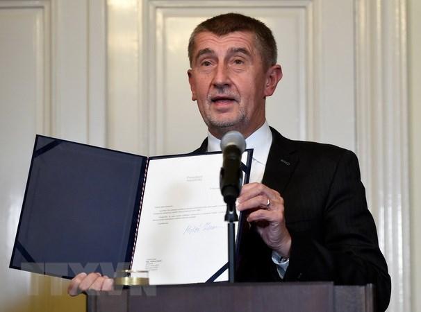 Tân Thủ tướng Cộng hòa Séc Andrej Babis tuyên thệ nhậm chức - ảnh 1