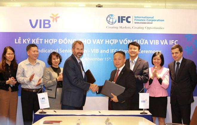 IFC cấp 185 triệu USD cho VIB hỗ trợ doanh nghiệp nhỏ và nhà ở - ảnh 1